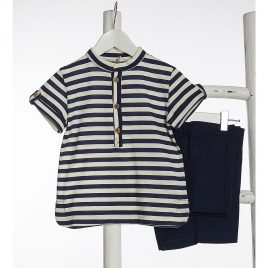 Polo niño NAVY de KIDS CHOCOLATE,  verano 2020