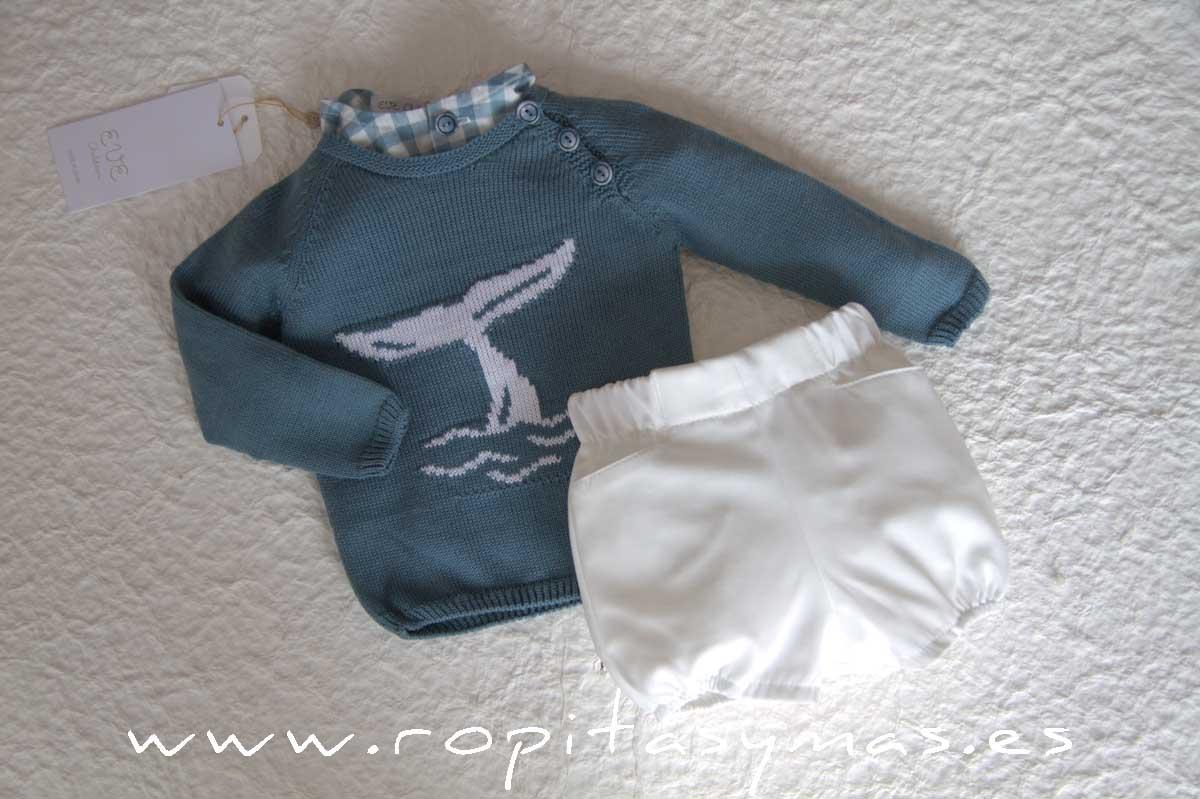 Jersey azul delfín DOLPHIN de EVE CHILDREN