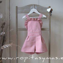 Mono rayas rosas PARROT de EVE CHILDREN, verano 2020