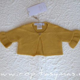 Chaqueta amarillo BEE de EVE CHILDREN, verano 2020