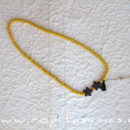 Collar amarillo BEE de EVE CHILDREN, verano 2020