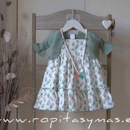 Collar blanco y verde agua PARROT de EVE CHILDREN, verano 2020