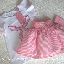 Conjunto falda niña ALANA de EVA CASTRO, verano 2020