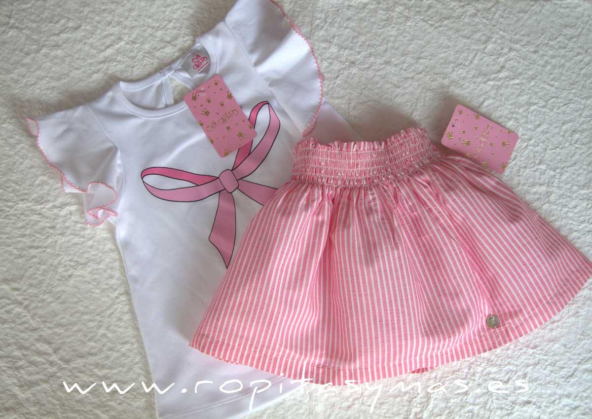 Conjunto falda niña ALANA de EVA CASTRO