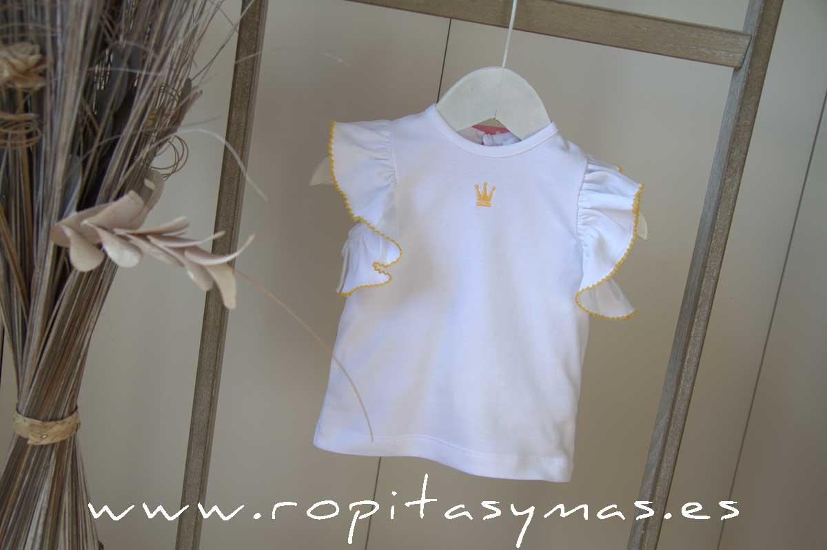 Camiseta jirafas PHILIPPA de EVA CASTRO