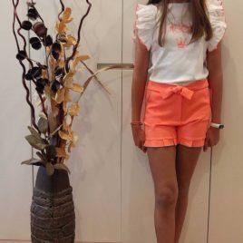Conjunto short niña ANTONELLA de EVA CASTRO, verano 2020