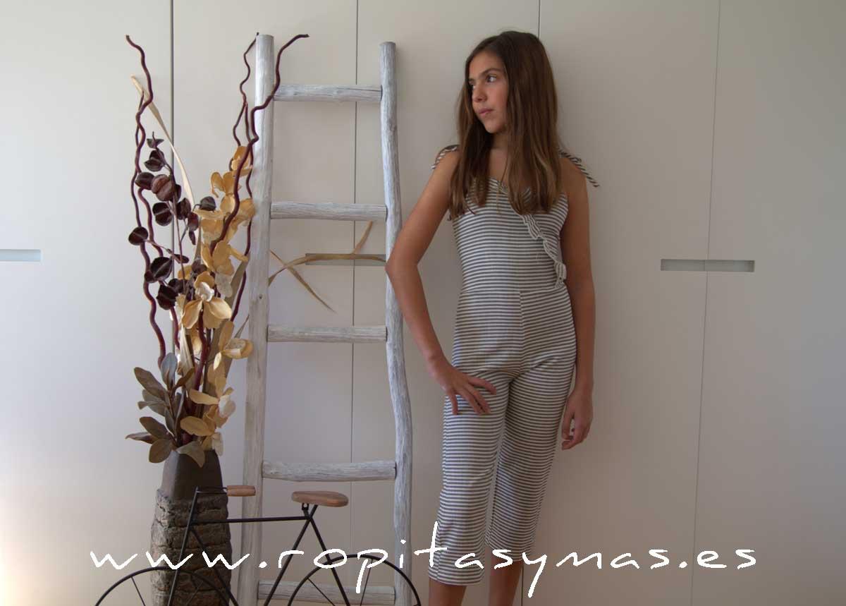 Mono rayas kakis TEEN de EVE CHILDREN