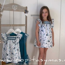 Vestido delfines DOLPHIN de EVE CHILDREN, verano 2020