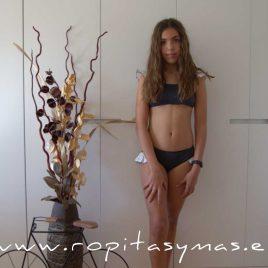 Bikini gris estrellas TITANIUM de EVE CHILDREN, verano 2020