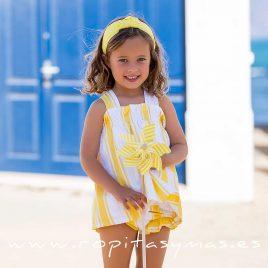Jesusito baby RAYAS AMARILLAS de KIDS CHOCOLATE, verano 2020