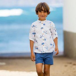 Camisa mao BALLENAS de KIDS CHOCOLATE,  verano 2020