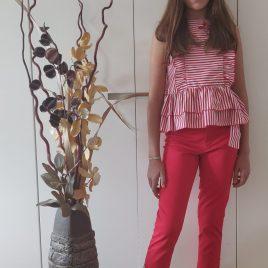 Conjunto pantalón pitillo VENECIA de NOMA, verano 2020