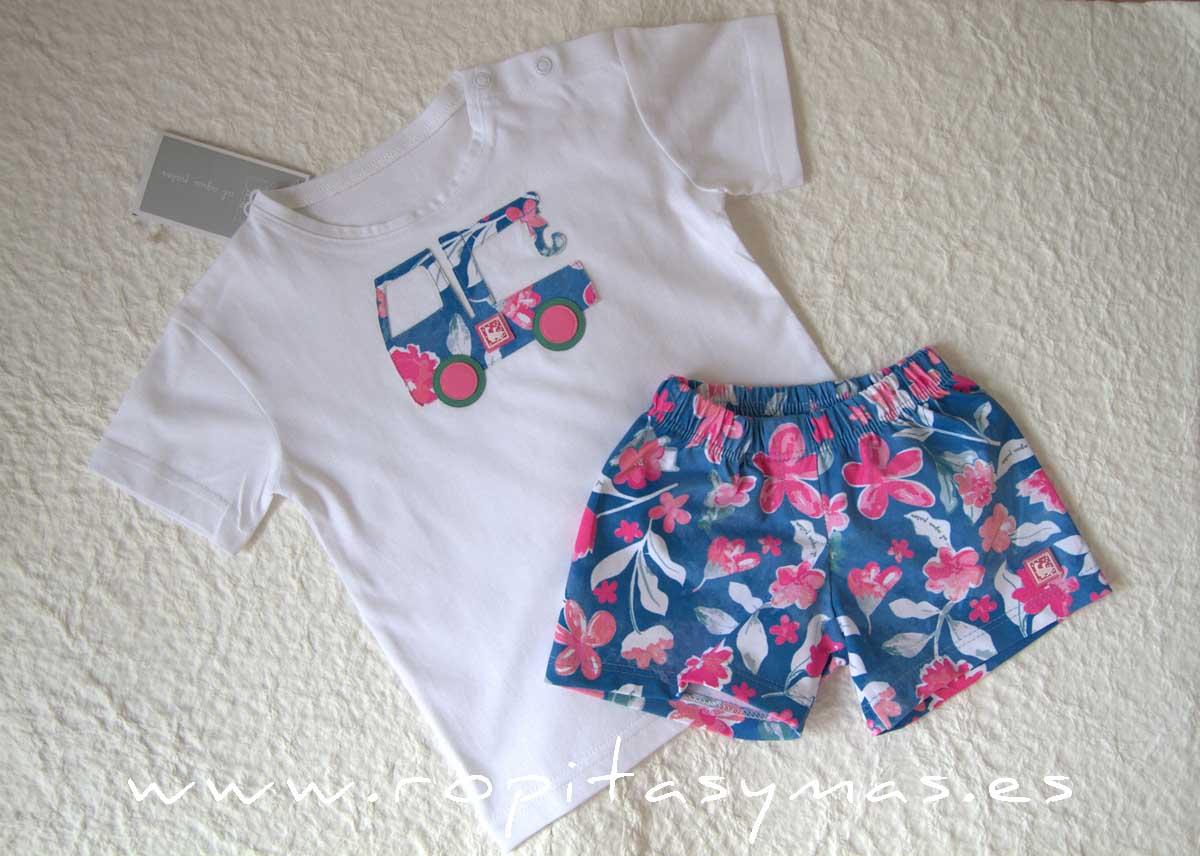Camiseta niño PINKYBLUE de AL AGUA PATOS