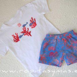 Camiseta niño CORAL de AL AGUA PATOS, verano 2020