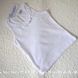 Camiseta nadadora volante blanca de ANCAR, verano 2021