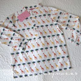 Camisa niño PHILIPPA de EVA CASTRO, verano 2020