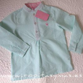 Camisa niño ALANA de EVA CASTRO, verano 2020