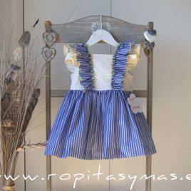 Vestido sin mangas RAYAS MARINERAS de LA PEPPA, verano 2020
