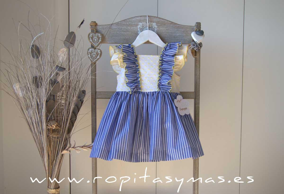 Vestido sin mangas RAYAS MARINERAS de LA PEPPA
