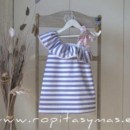 Vestido marinero CAPRI de MAMI MARÍA, verano 2020