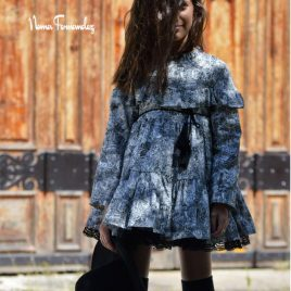 Vestido toile de jouy AZABACHE de NOMA, invierno 2020