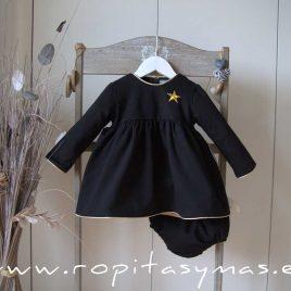 Jesusito negro ESTRELLA dorada de MON PETIT BONBON, invierno 2020