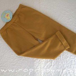 Pantalón unisex largo mostaza de PIO-PIO, invierno 2020