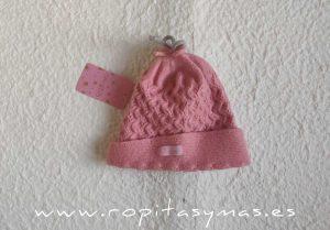 Gorro niña rosa CANDY de EVA CASTRO