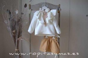 Conjunto falda rayas SPICY de EVE CHILDREN