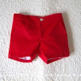 Pantalón niño rojo tartán SCOTISH de EVE CHILDREN, invierno 2020