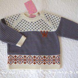 Jersey niño AVA de EVA CASTRO, invierno 2020