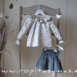 Conjunto falda petróleo MOON de EVE CHILDREN, invierno 2020