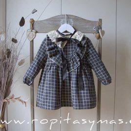Vestido cuadros SQUARE de EVE CHILDREN, invierno 2020