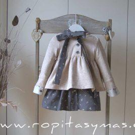 Sudadera niña capucha SQUARE de EVE CHILDREN, invierno 2020