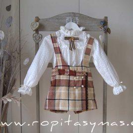 Short-falda caldero MÓNACO de KAULI, invierno 2020