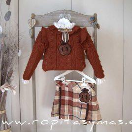 Jersey caldero niña MÓNACO de KAULI, invierno 2020