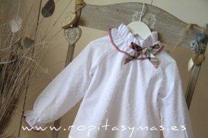 Blusa blanca AMORE de KAULI