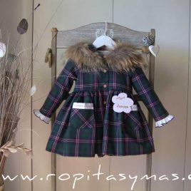 Vestido verde ESCOCÉS LA PEPPA, invierno 2020