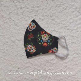 Mascarillas Higiénicas niños – Calaveras Mexicanas
