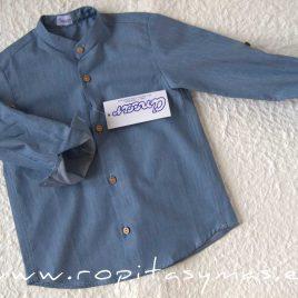 Camisa mao azul JEANS de ANCAR, invierno 2020