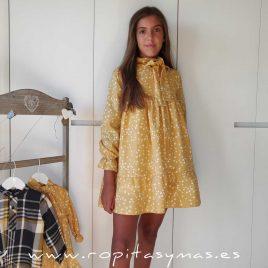 Vestido estrellas CASILDA de EVE CHILDREN, invierno 2020