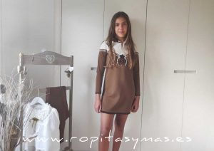 Vestido capucha YOUNG & CHIC MÓNACO de KAULI
