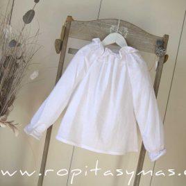 Blusa blanca COTTON de MAMI MARIA, invierno 2020