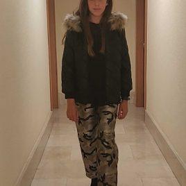 Pantalón camuflaje LUARCA de BELLA BIMBA, invierno 2020