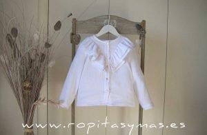 Blusa bambula blanca QUEENS de MAMI MARIA