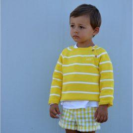 Jersey niño amarillo OLIVIA de NOMA, verano 2021