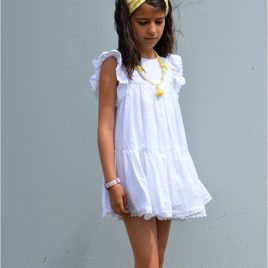 Vestido blanco OLIVIA de NOMA, verano 2021