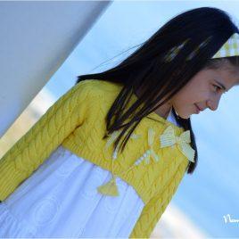 Jersey corto amarillo OLIVIA de NOMA, verano 2021