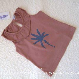Camiseta volante rosa PALMERAS de ANCAR, verano 2021