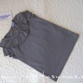 Camiseta volante gris ESTRELLAS de ANCAR verano 2021